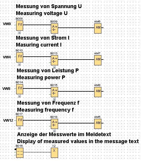 With LOGO! 8, how do you acquire the measurement data of a SENTRON